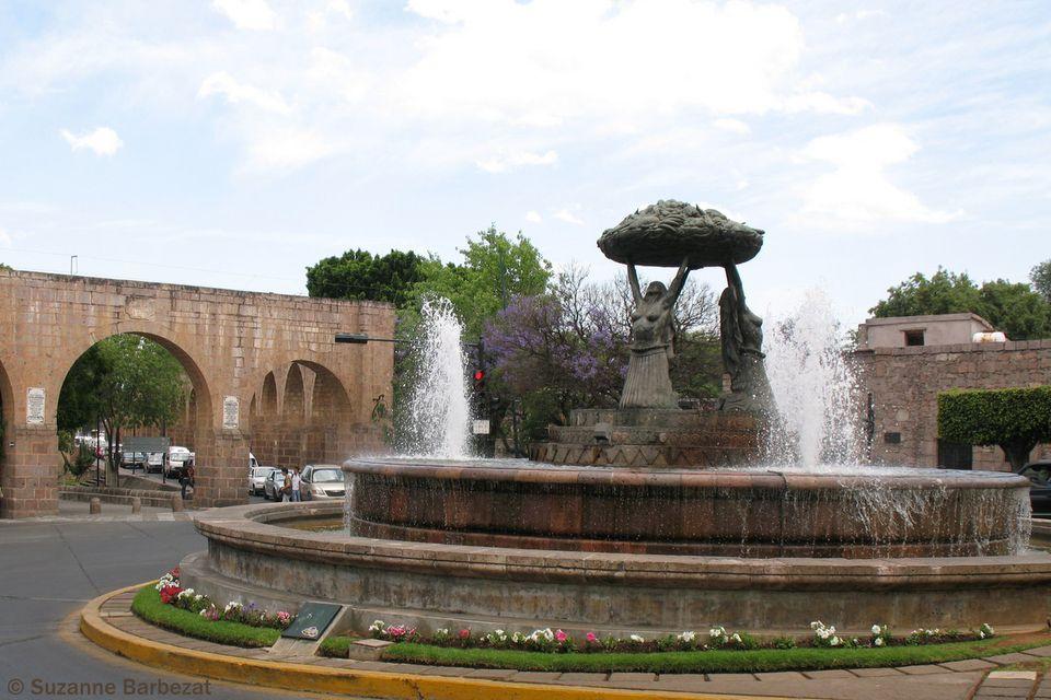 Fuente de las Tarascas, Morelia