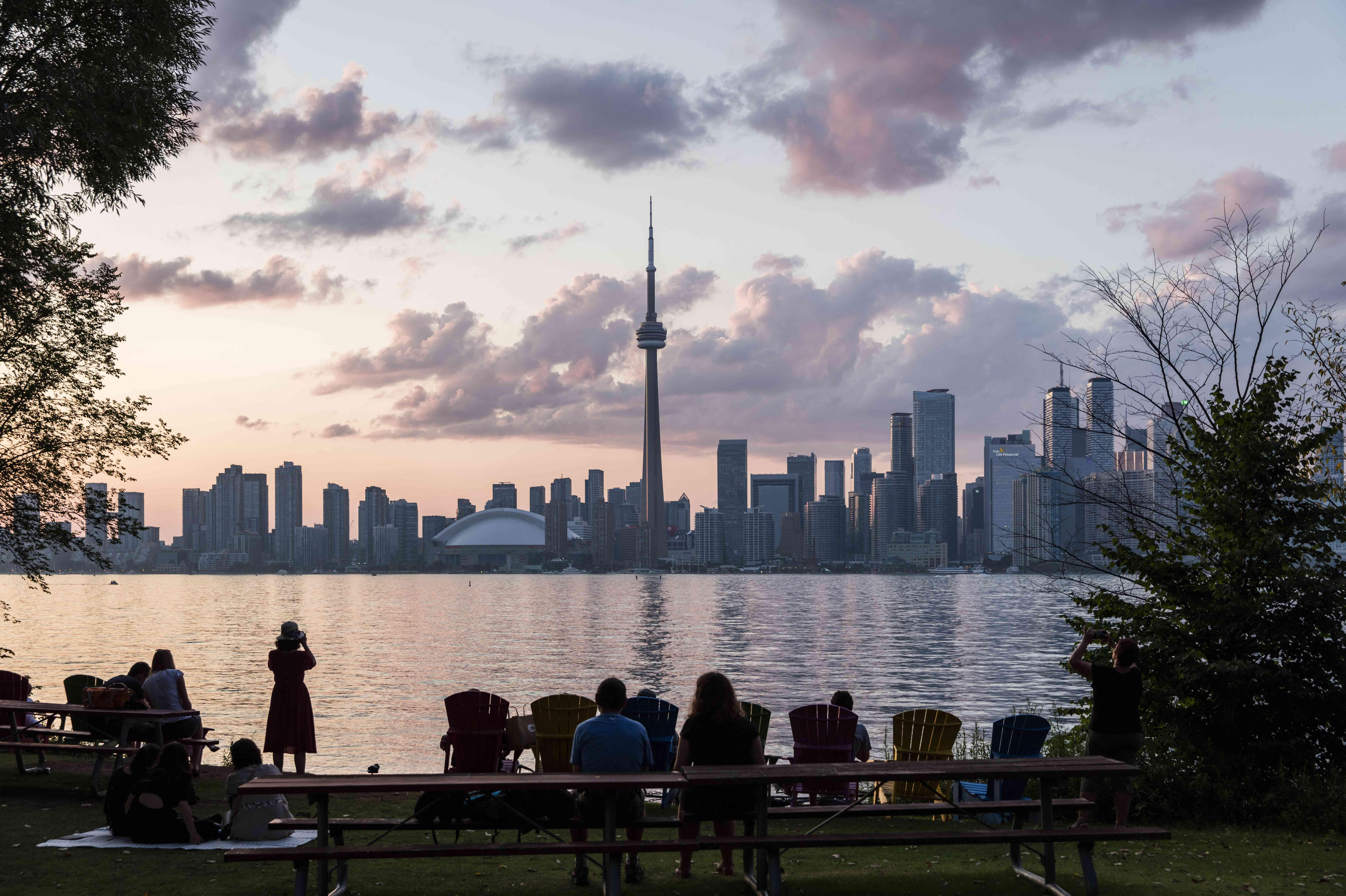 Centre Island in Toronto