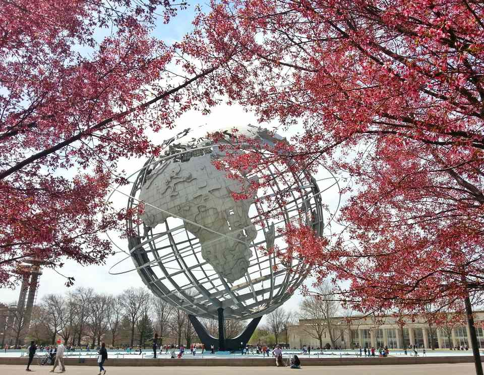 Unisphere Globe in Queens, New York