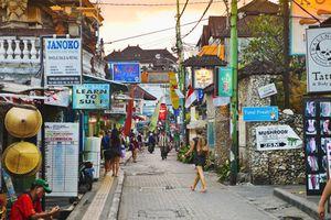 Street in Kuta, Bali