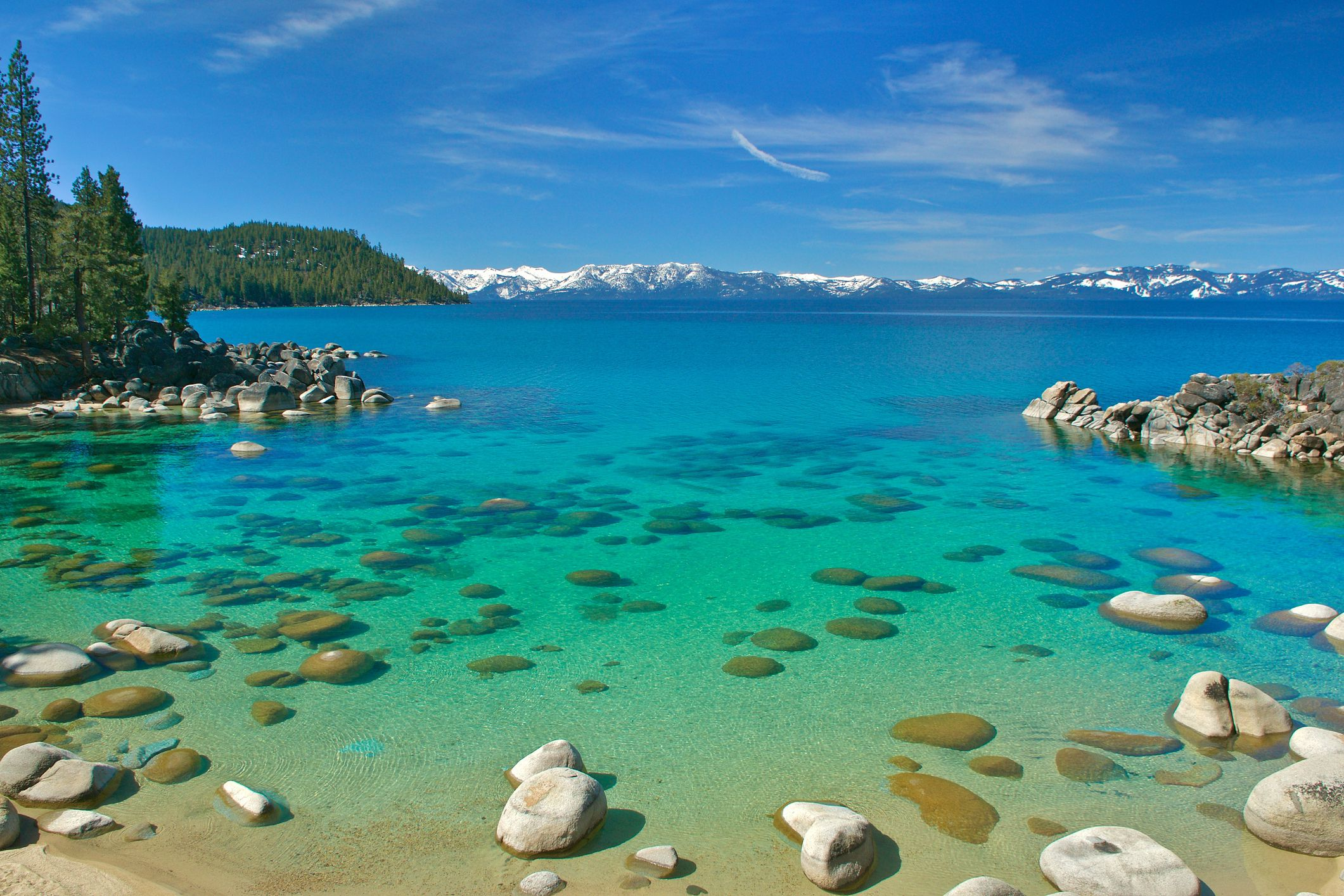 Lake Tahoe's Annual Weather and Climate