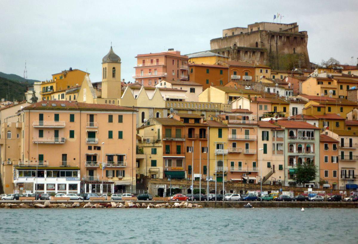 Port Town of Santo Stefano in Monte Argentario