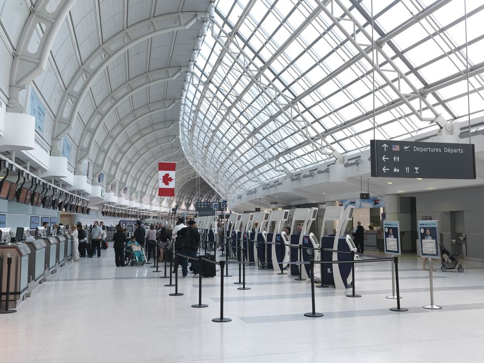Toronto Pearson International Airport Designed by Moshe Safdie