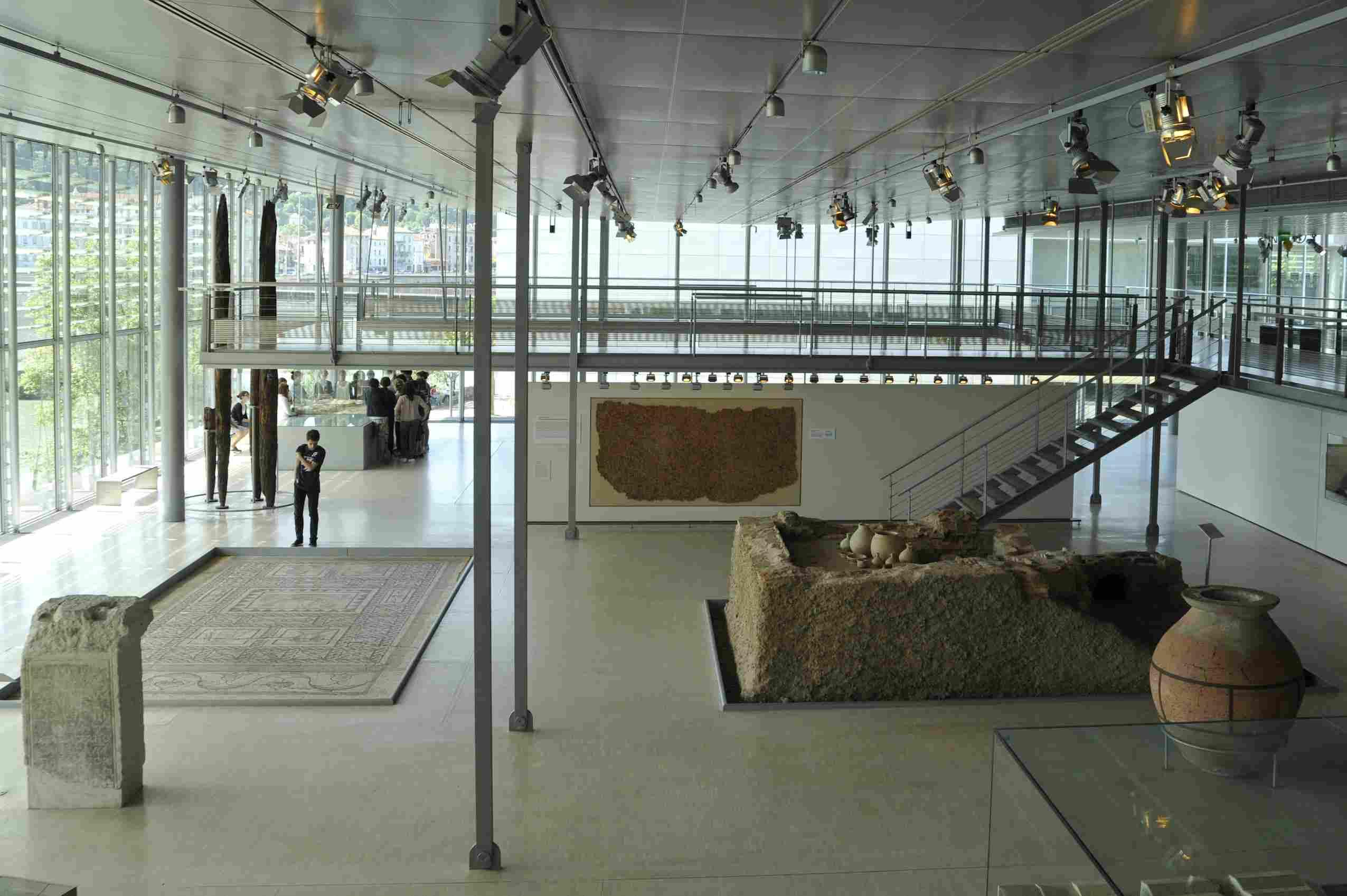 Gallo Roman Museum at St-Romain-en-Gal
