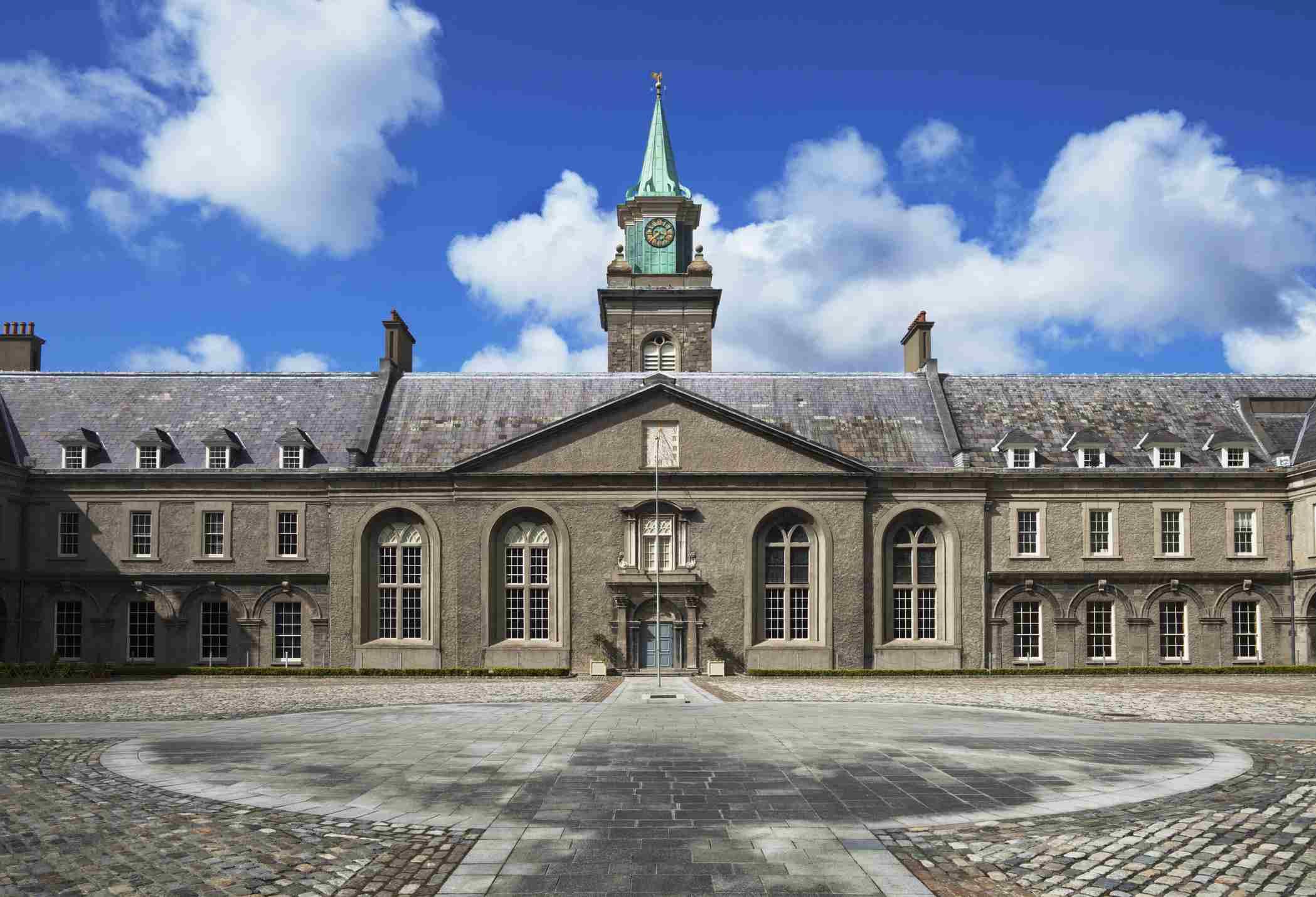 The Museum Of Modern Art In The Old Royal Hospital; Kilmainham County Dublin