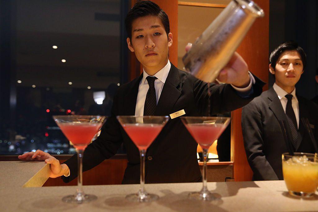Cocktails at Park Hyatt Shinjuku