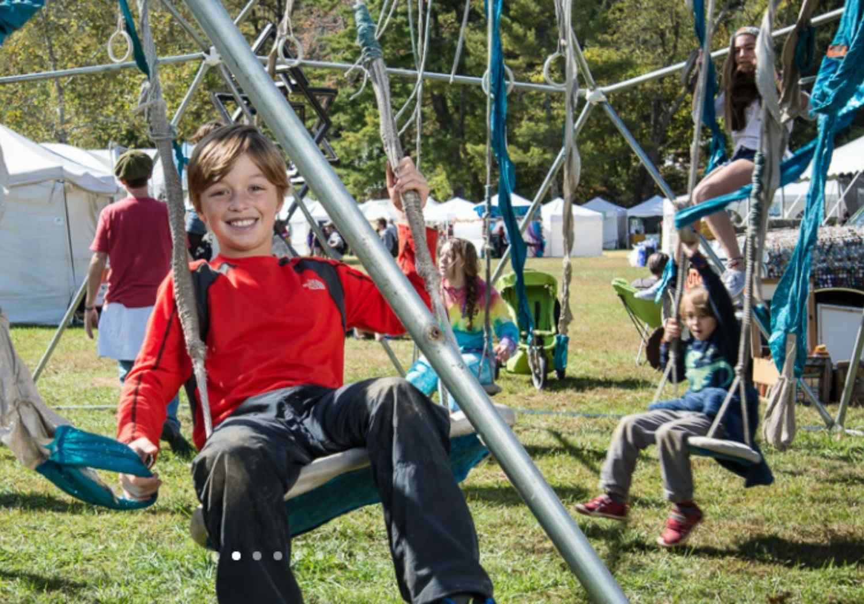 Lake Eden Arts Festival with Kids