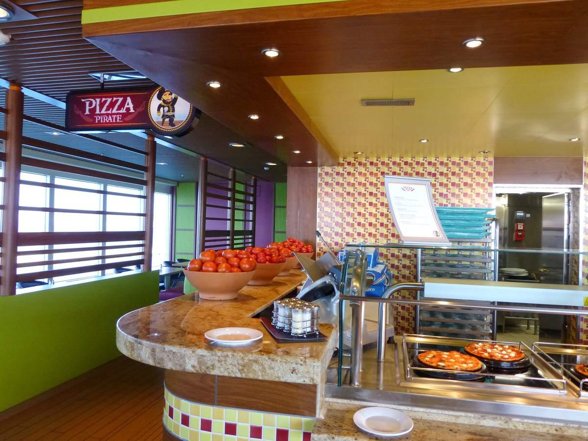 Carnival Breeze Dining - Pizza Pirate