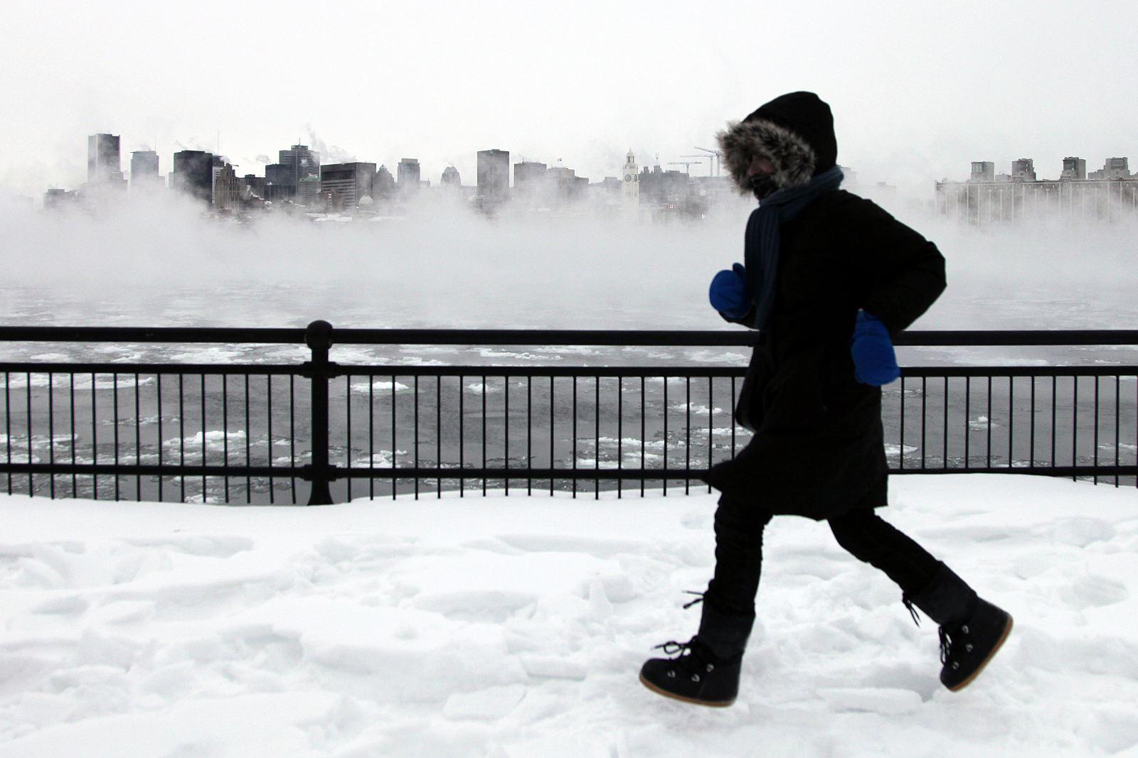 Montreal January weather is cooooold.