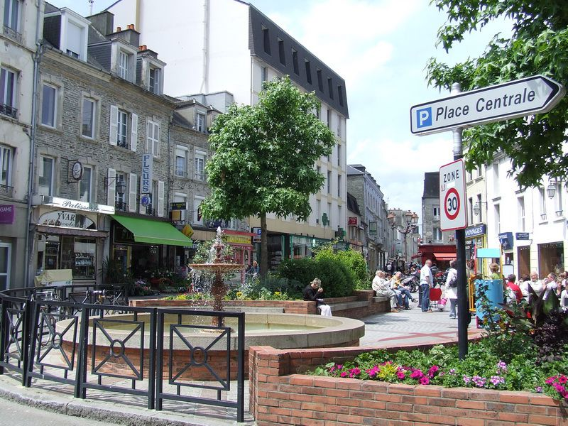Cherbourg, France - Downtown Cherbourg