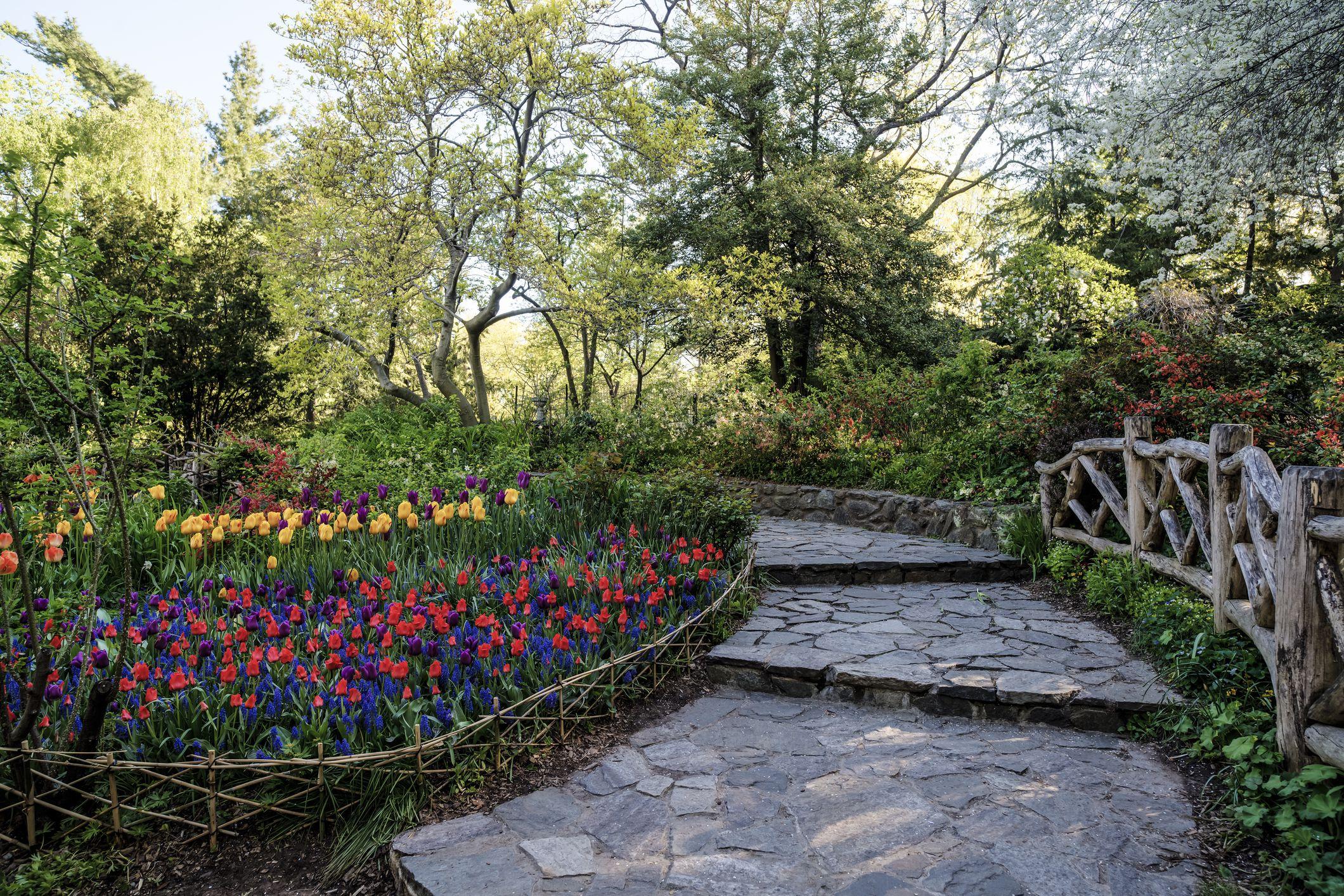 Central Park, New York City Shakespeare Garden