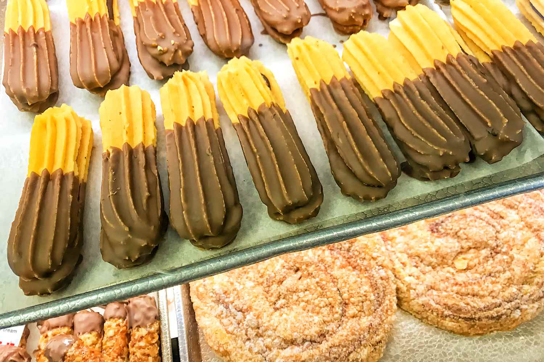 Pastries at Olsen's Bakery in Solvang, CA