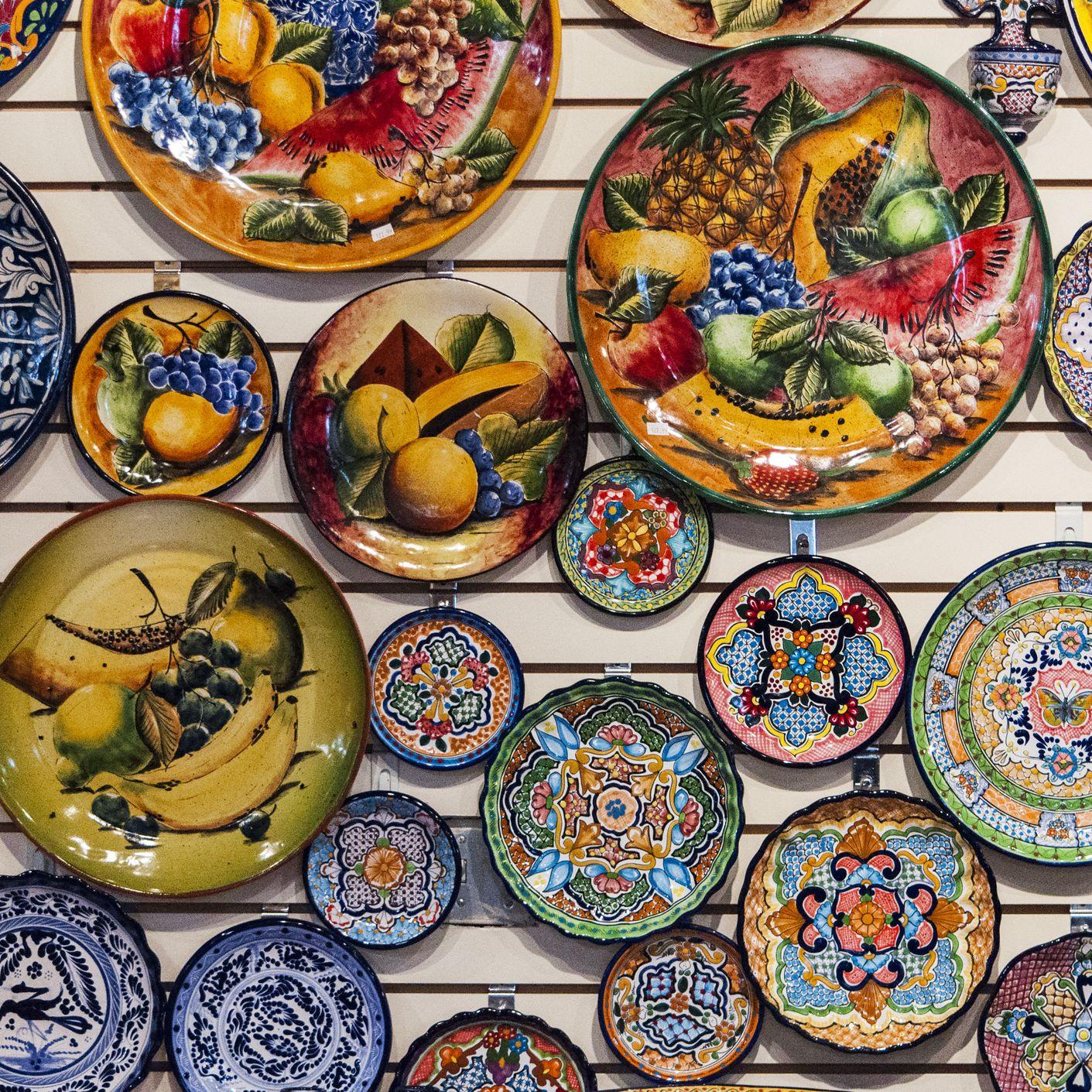 Talavera Poblana Pottery from Puebla, Mexico