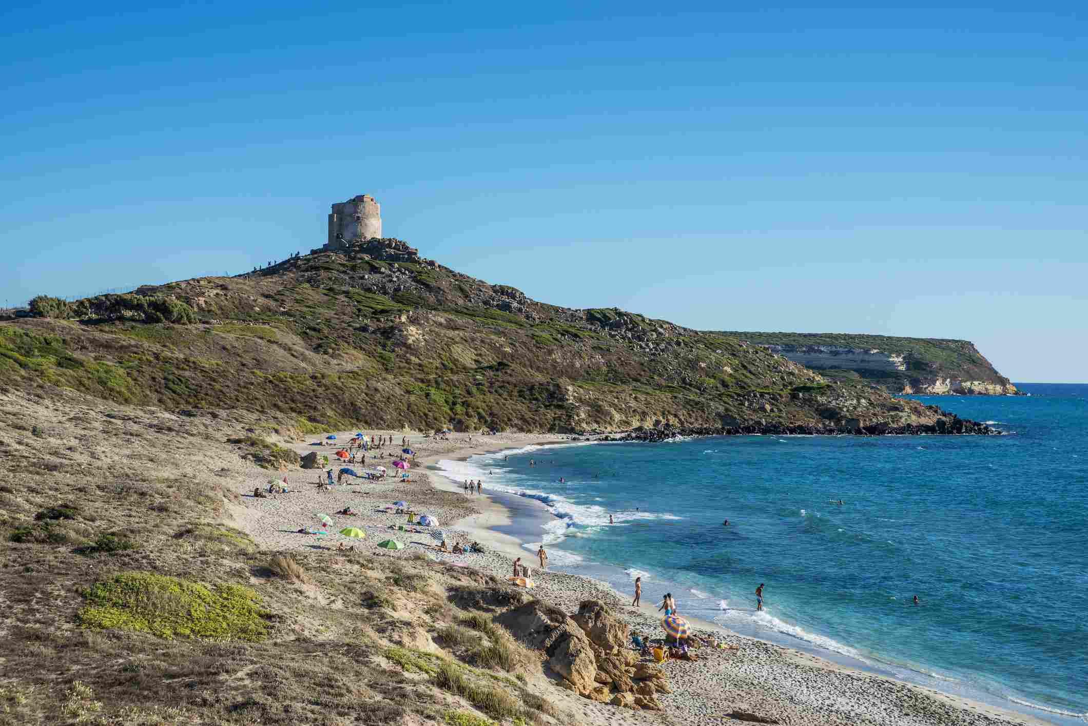 San Giovanni tower and beach
