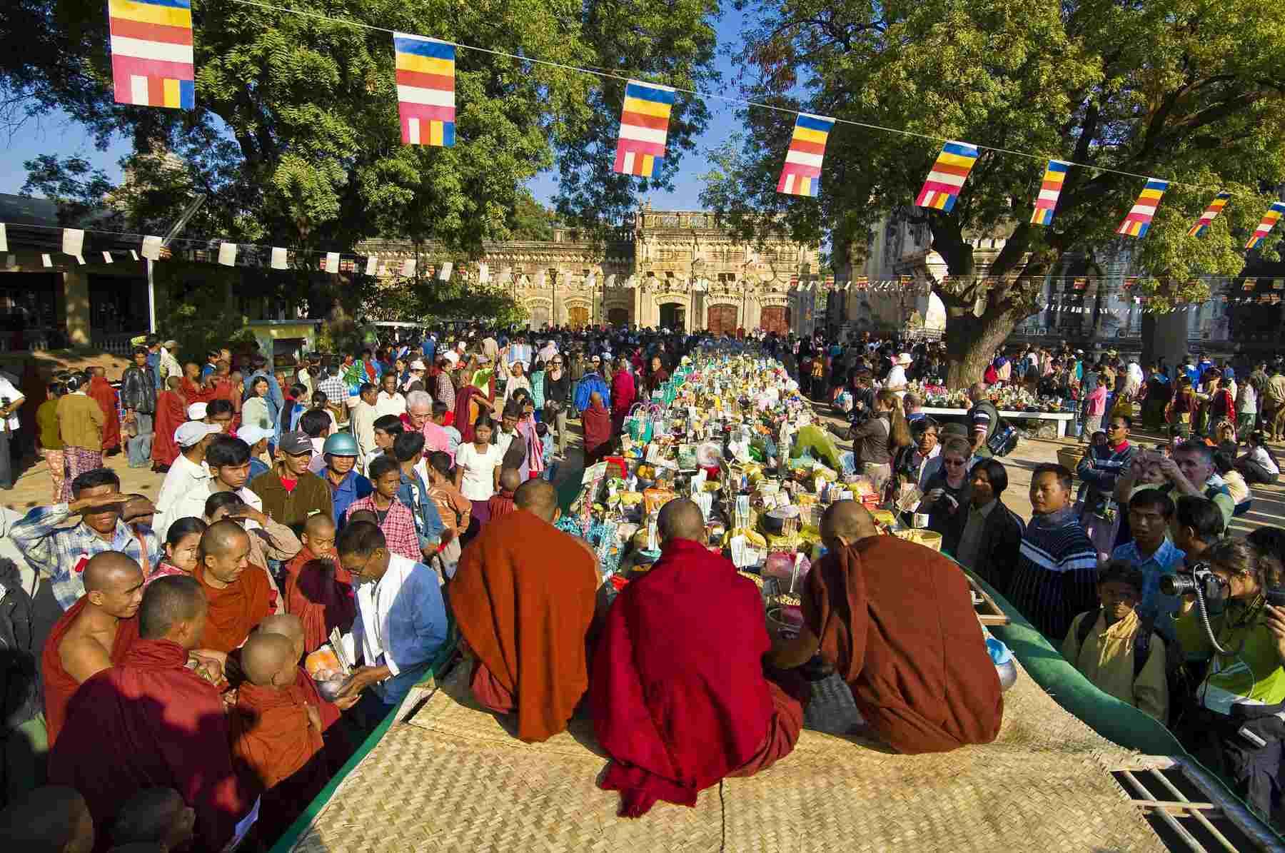 Ananda Festival in Bagan, Myanmar