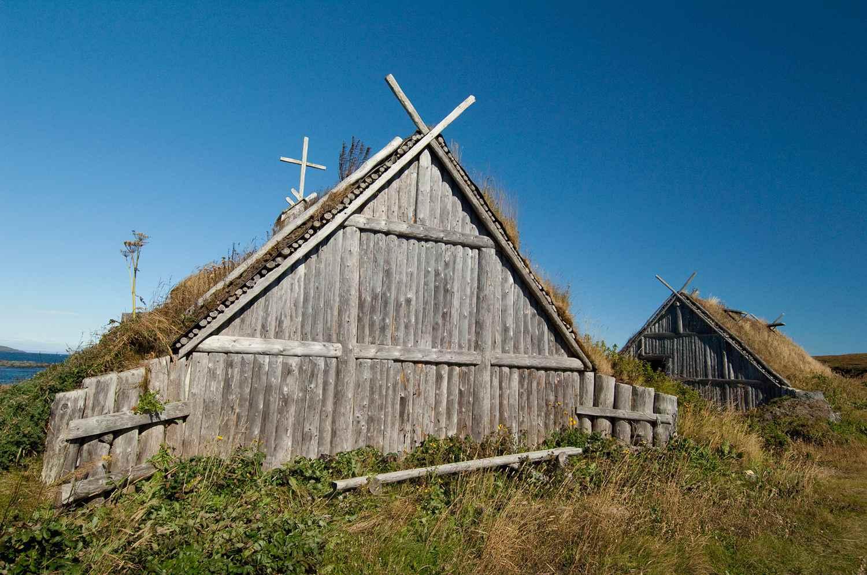 Replica of Norse Church
