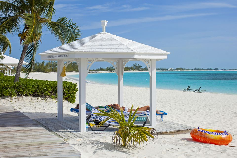 The white sand beaches of the Bahamas are world-famous
