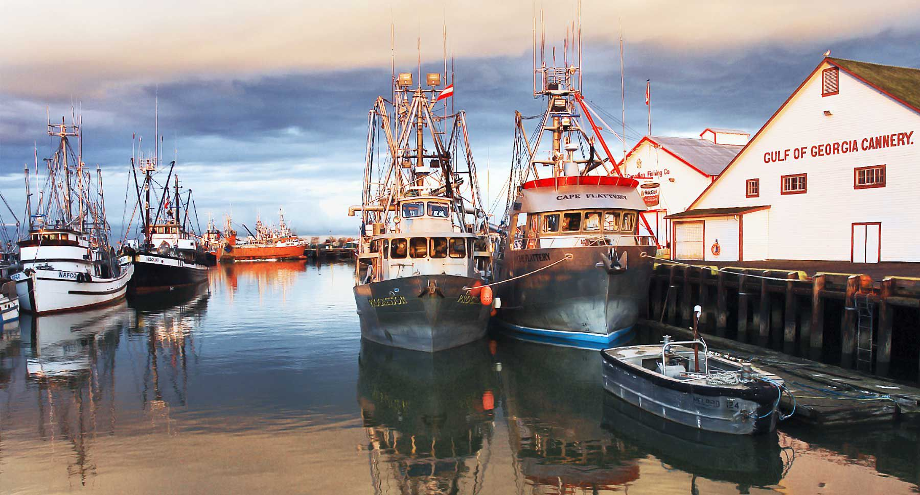 Visit Steveston Village in Richmond, British Columbia