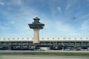 Dulles International Airport in Washington DC, USA