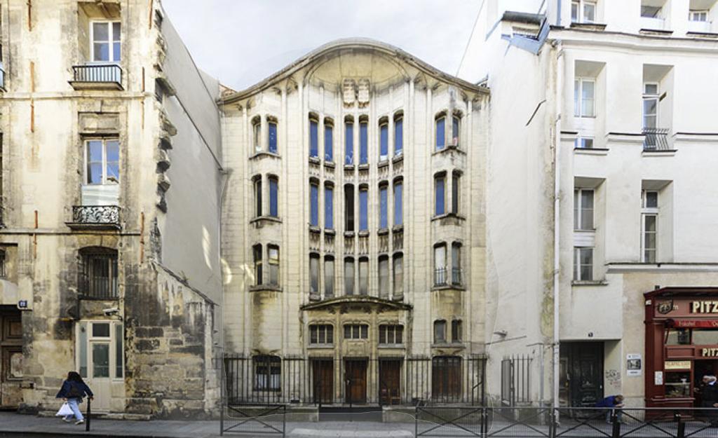 Agoudas Hakehilos Synagogue, Rue Pavée, Paris