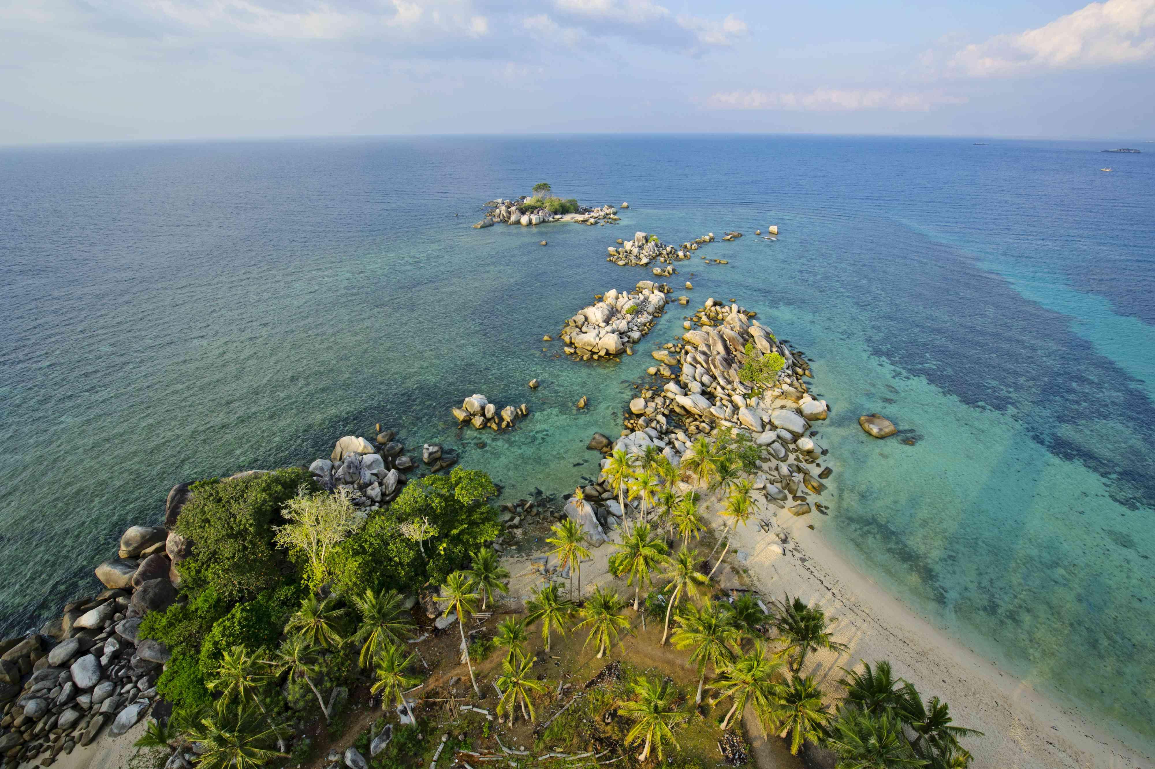 Lengkuas Island in South Sumatra