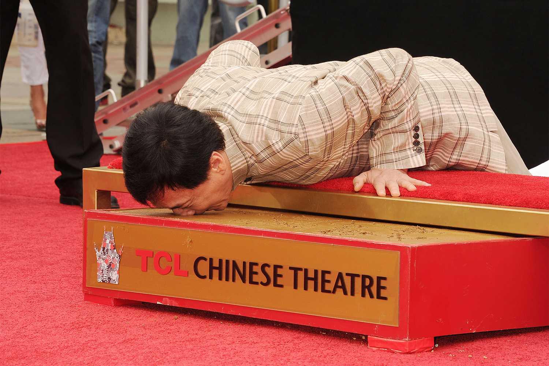 Jackie Chan's Handprint Ceremony