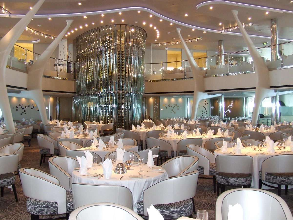 Restaurante Celebrity Solstice Grand Epernay