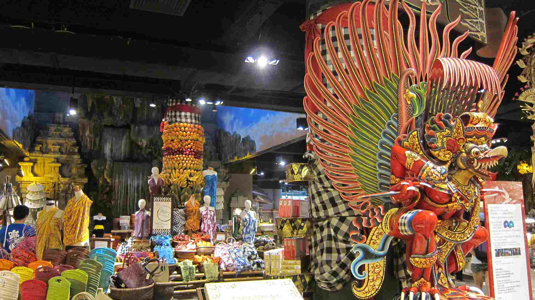 T Galleria by DFS interior, Bali, Indonesia