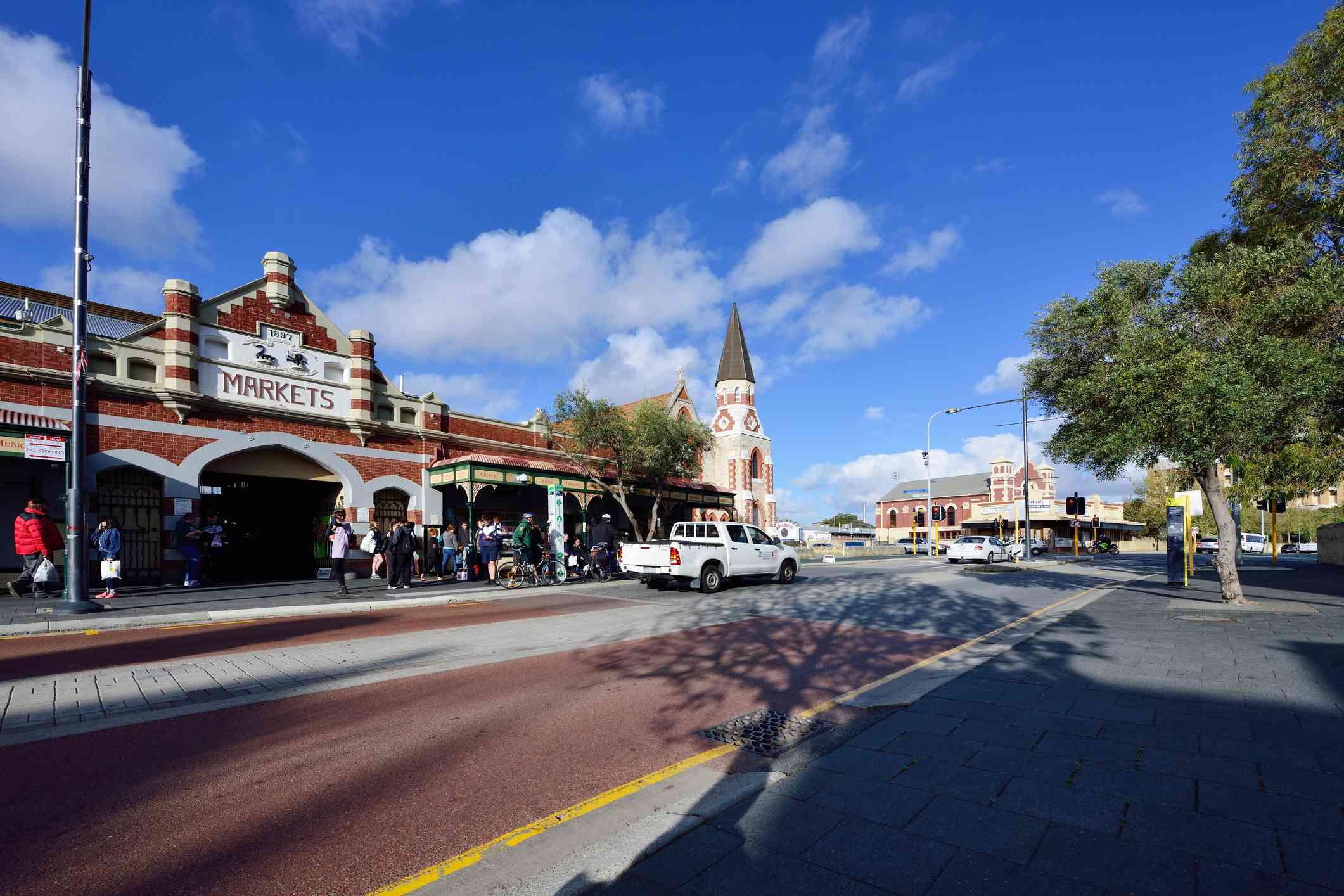 Fremantle Markets and South Terrace, Perth, Australia