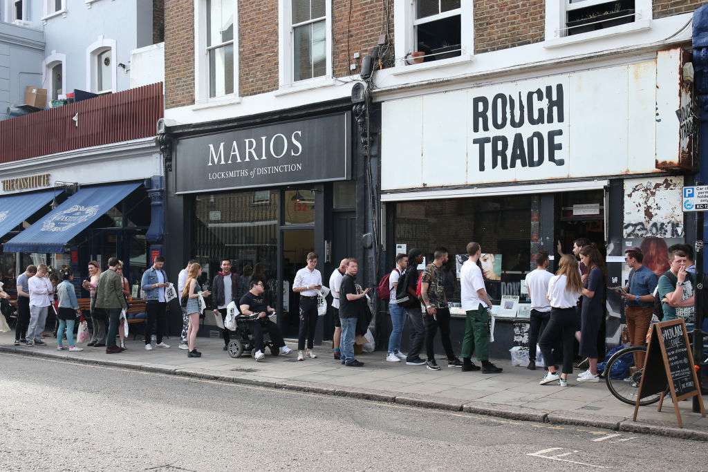 Rough Trade Records in Notting Hill