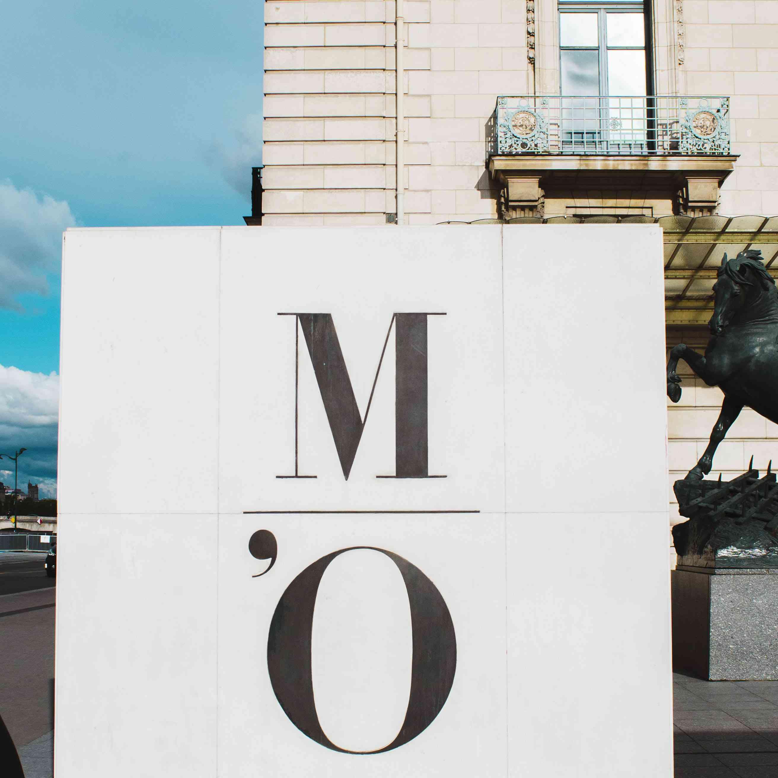 Firmar para el Museo de Orsay