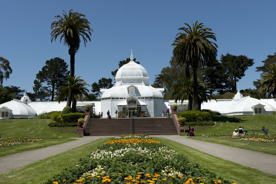 The Conservatory Of Flowers San Francisco California