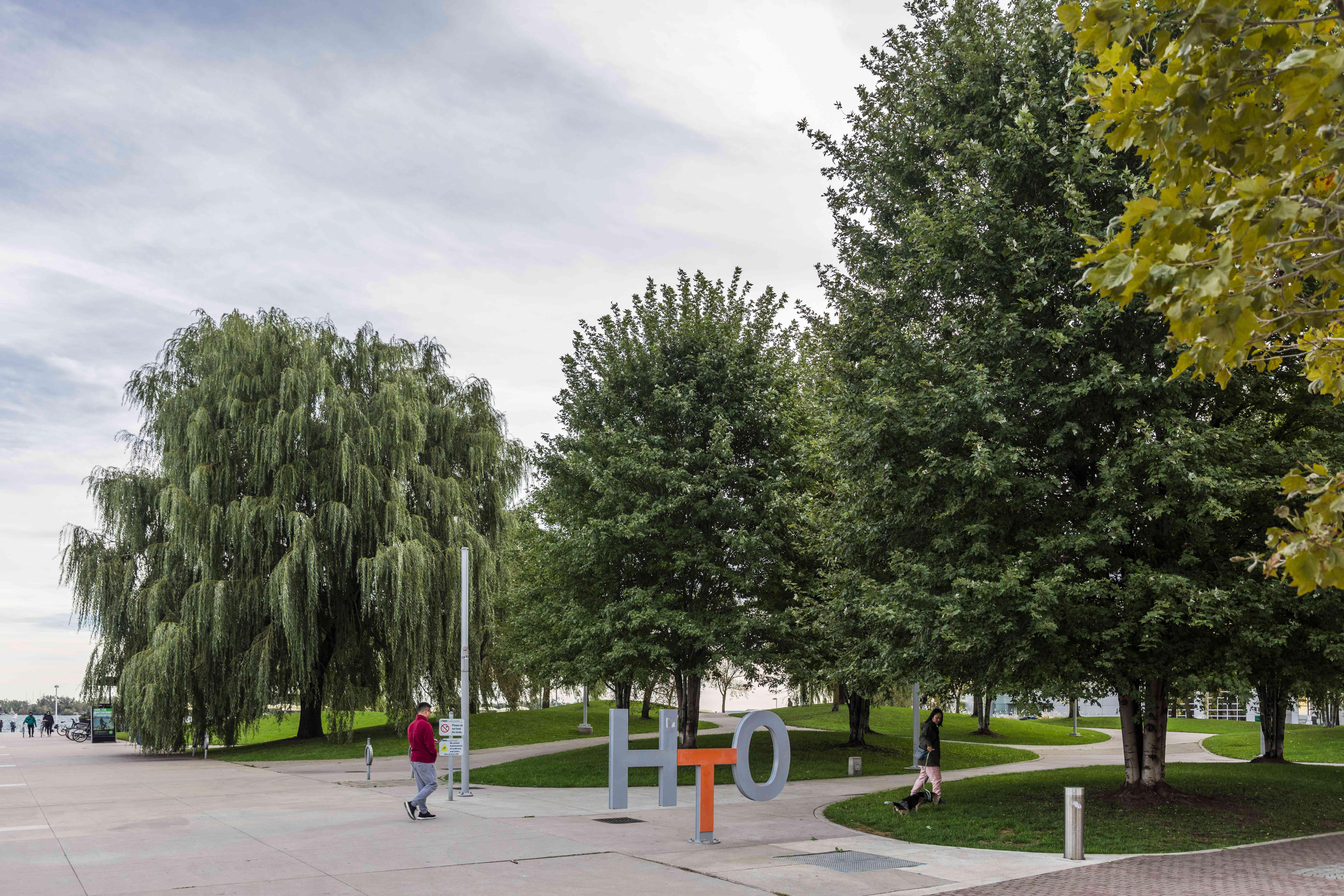 HTO Park in Toronto