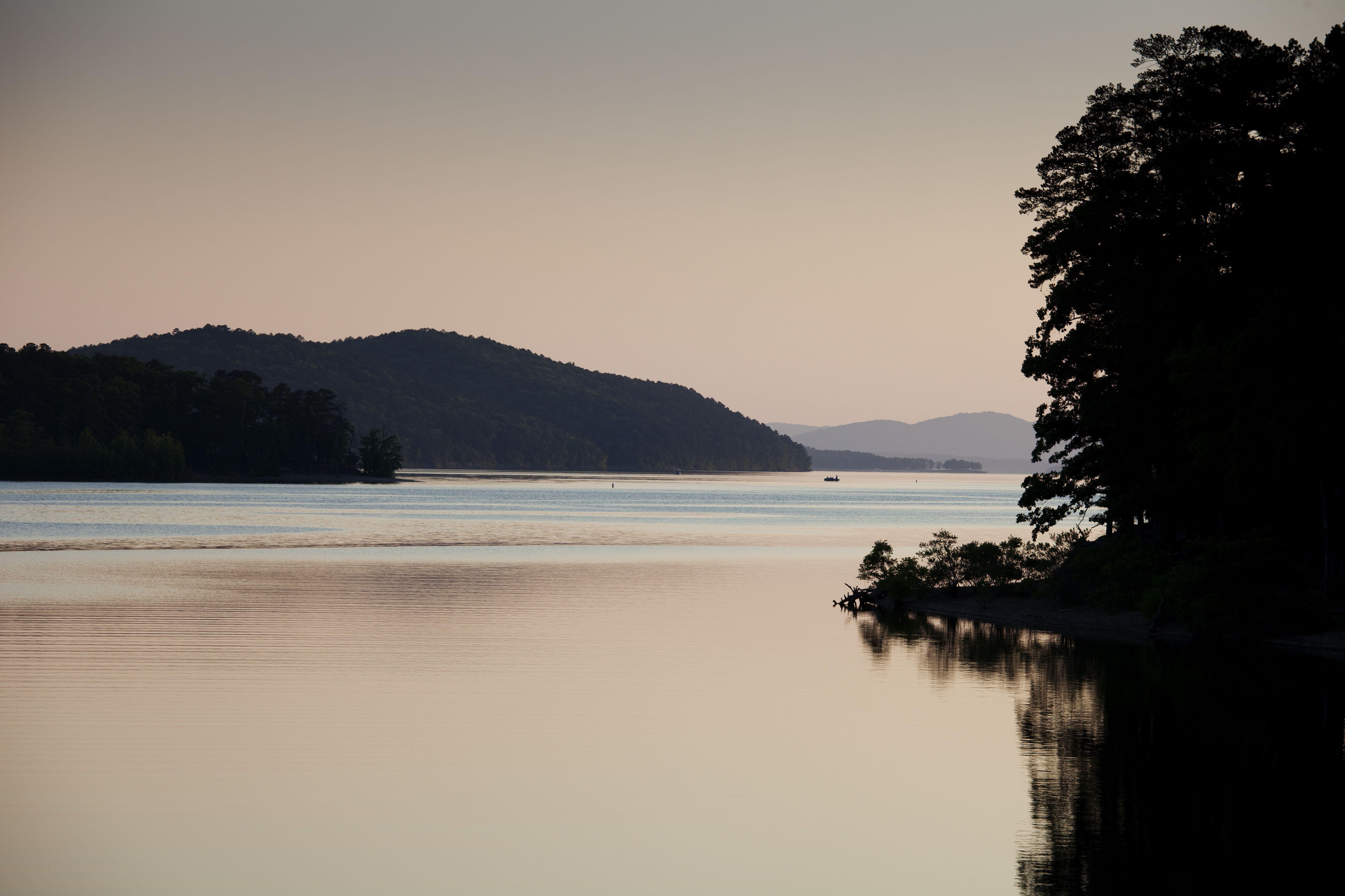 Lake Ouachita, Ouachita National Forest, Arkansas, USA