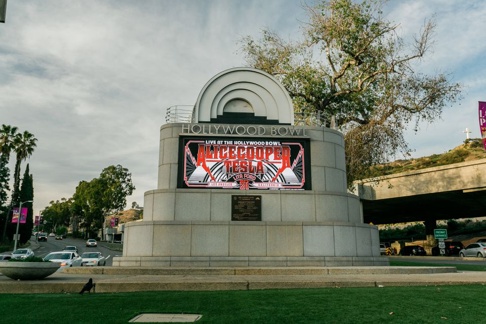 The Hollywood Bowl in Los Angeles, CA