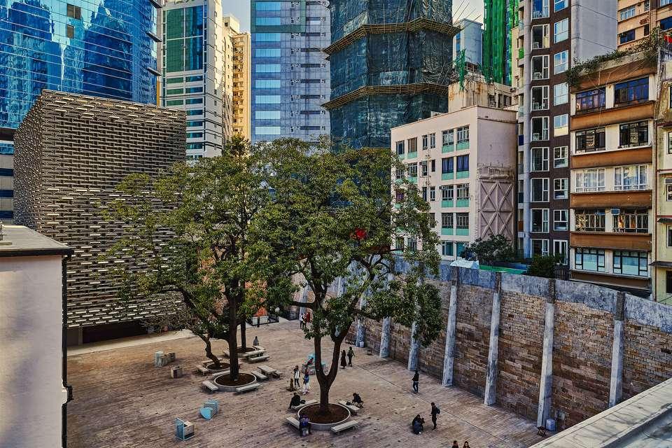 Tai Kwun Prison Yard, Hong Kong