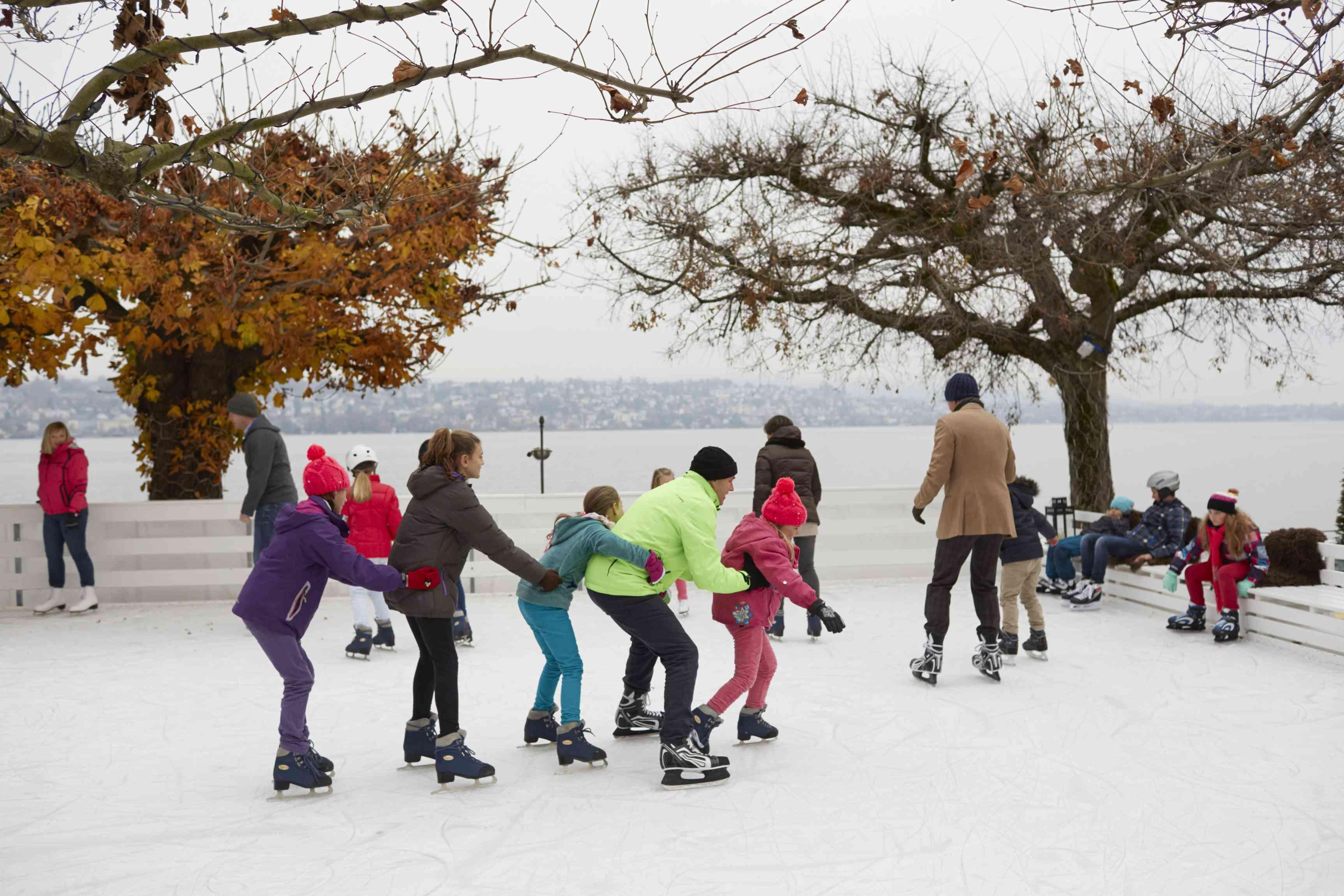Ice-skating at Romantik Seehotel Sonne