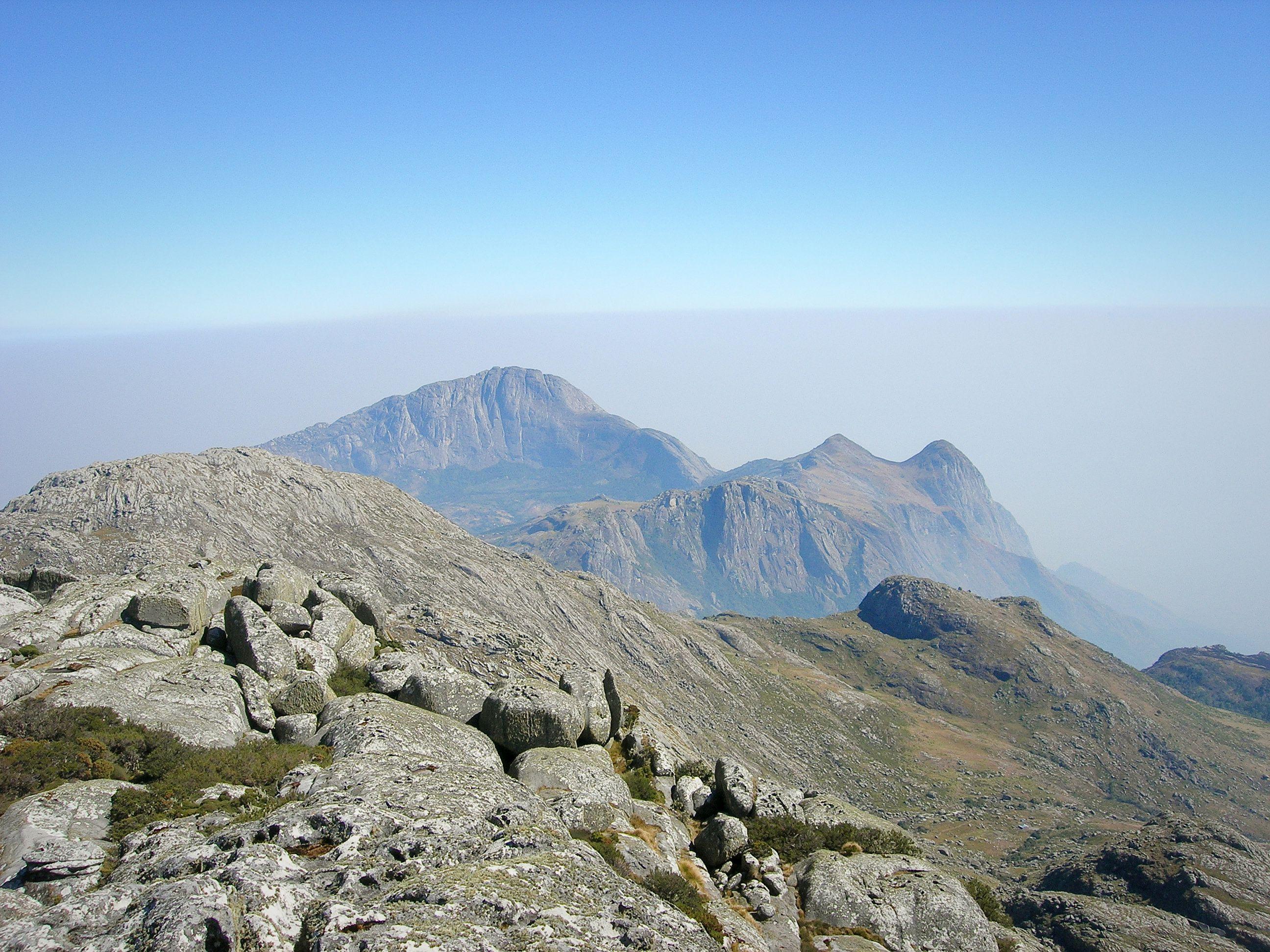 Summit of Mount Mulanje Malawi Southern Africa
