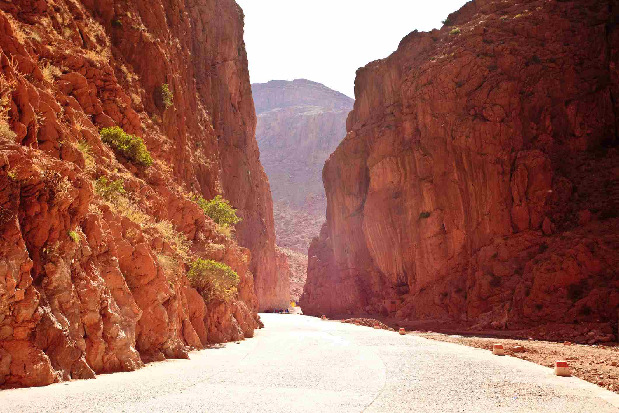 Todra Gorge in the Dades Valley, Morocco