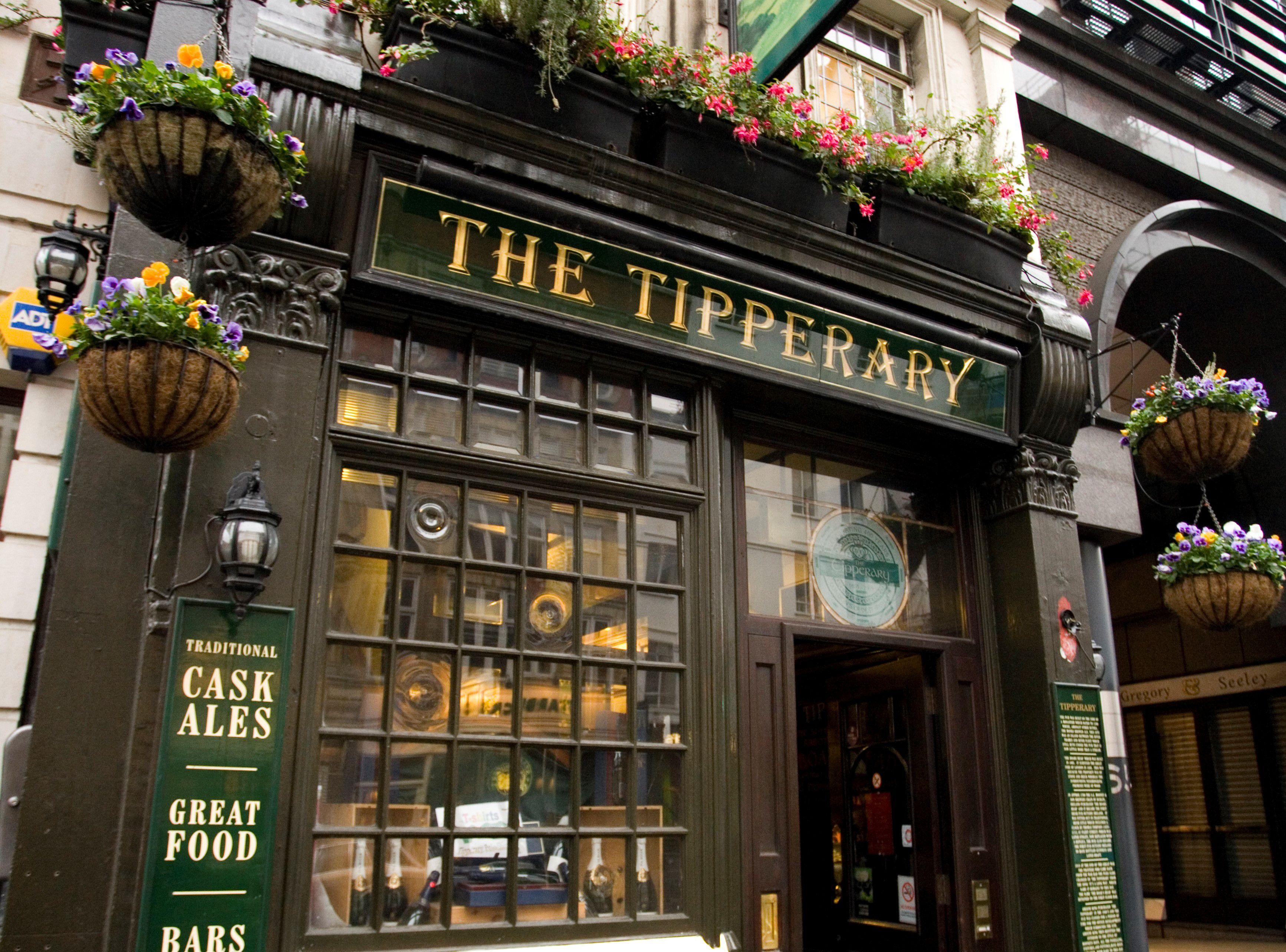Entrada al Tipperary