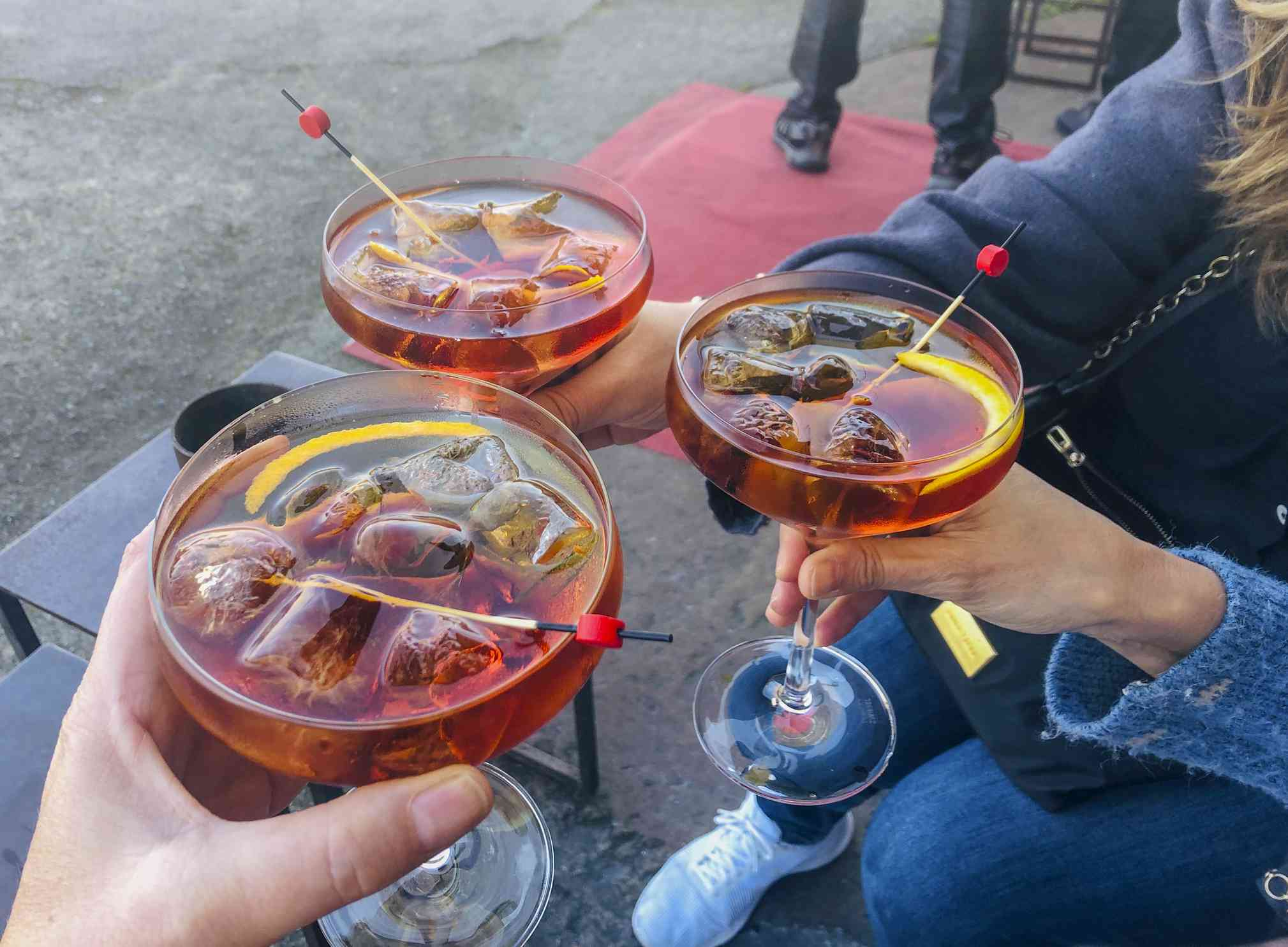 Three vermouths among friends in Spain