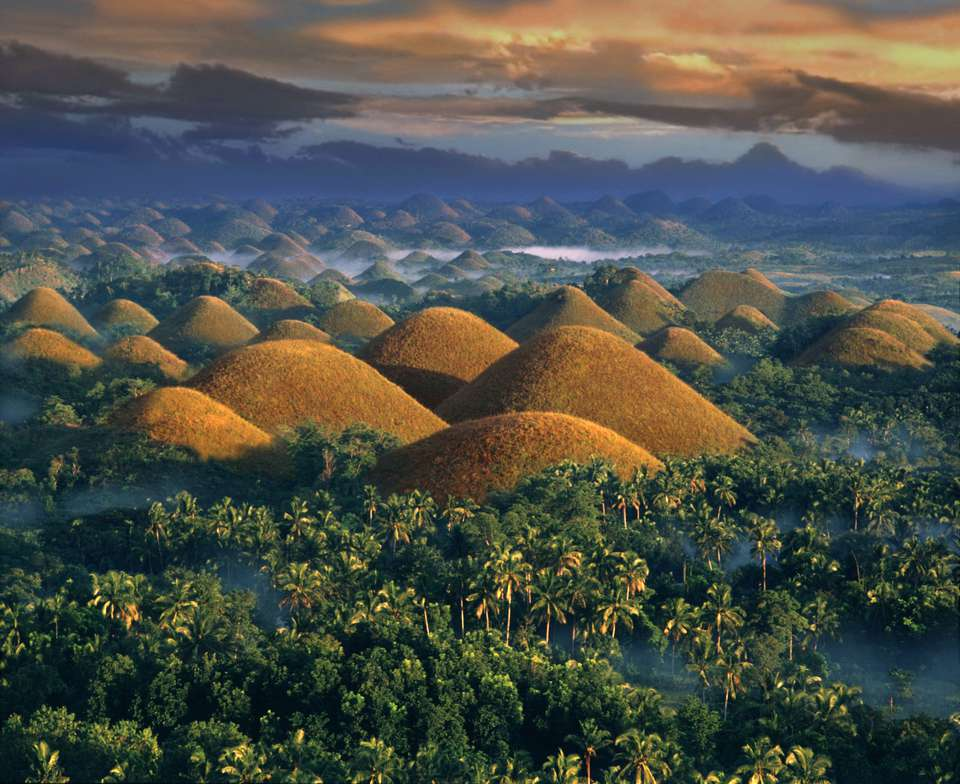 Chocolate Hills, Bohol, Filipinas