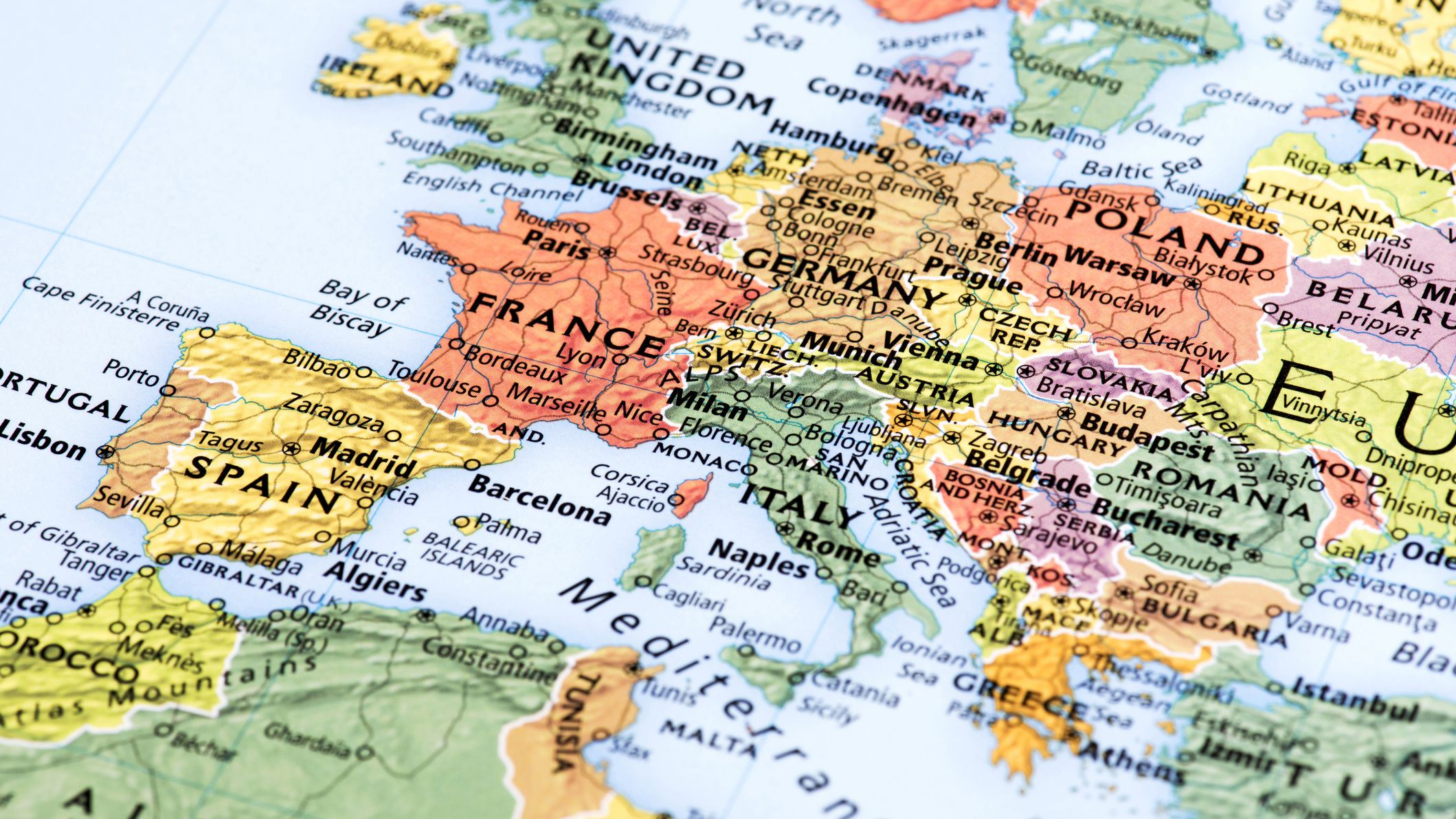 Picture of: Northern Europe Cruise Maps