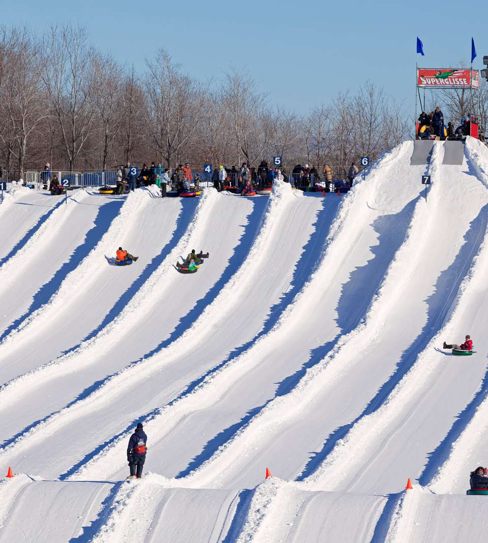 Montreal snow tubing and inner tubing destinations are listed right here,