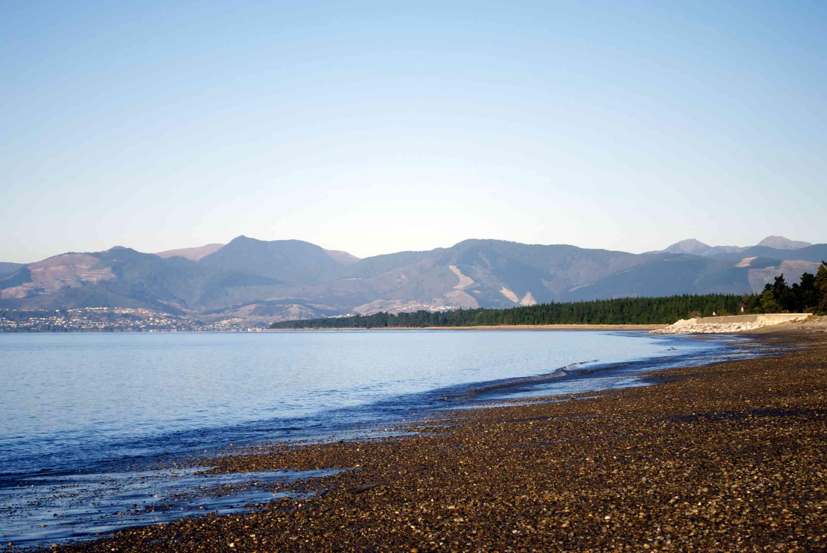 Ruby Bay Seascape, Mapua, Tasman Region, New Zealand