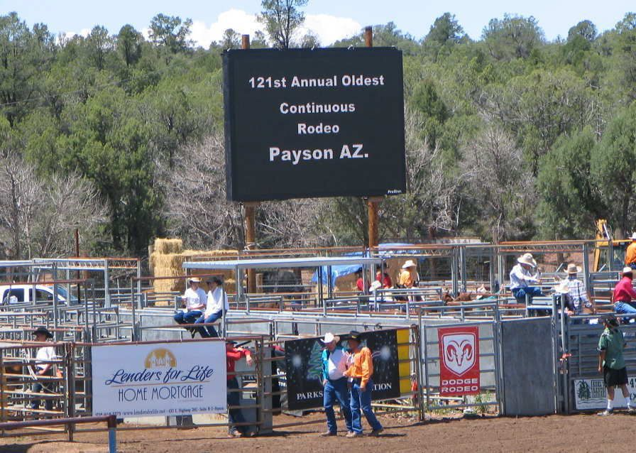 The 121st Payson Rodeo in 2005