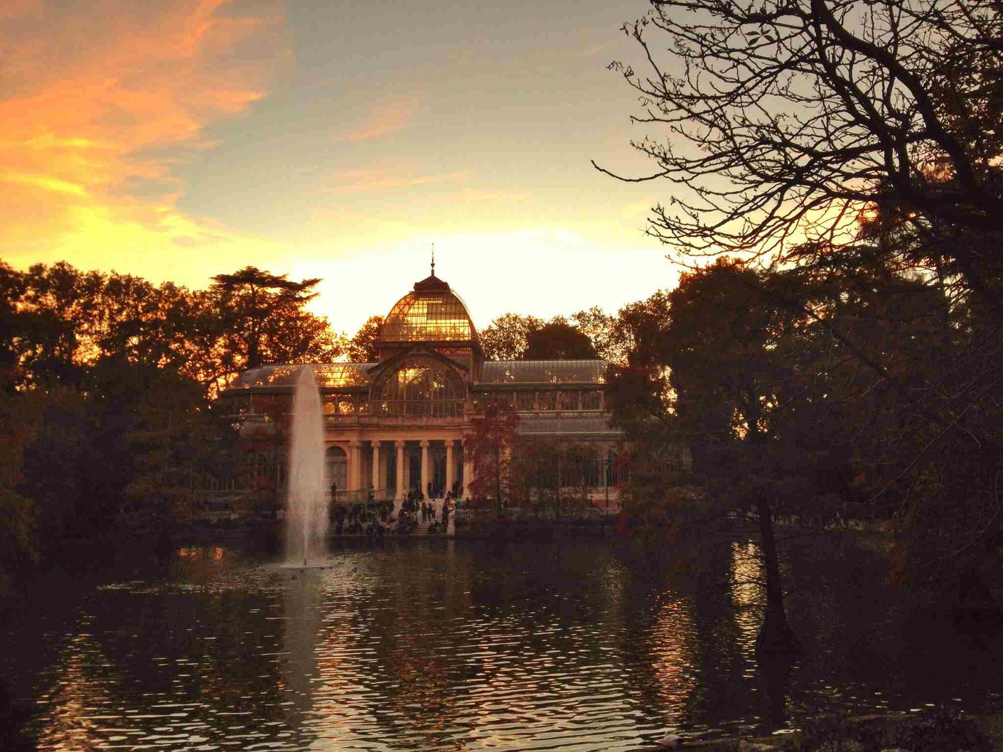 Retiro Park Madrid Glass Palace