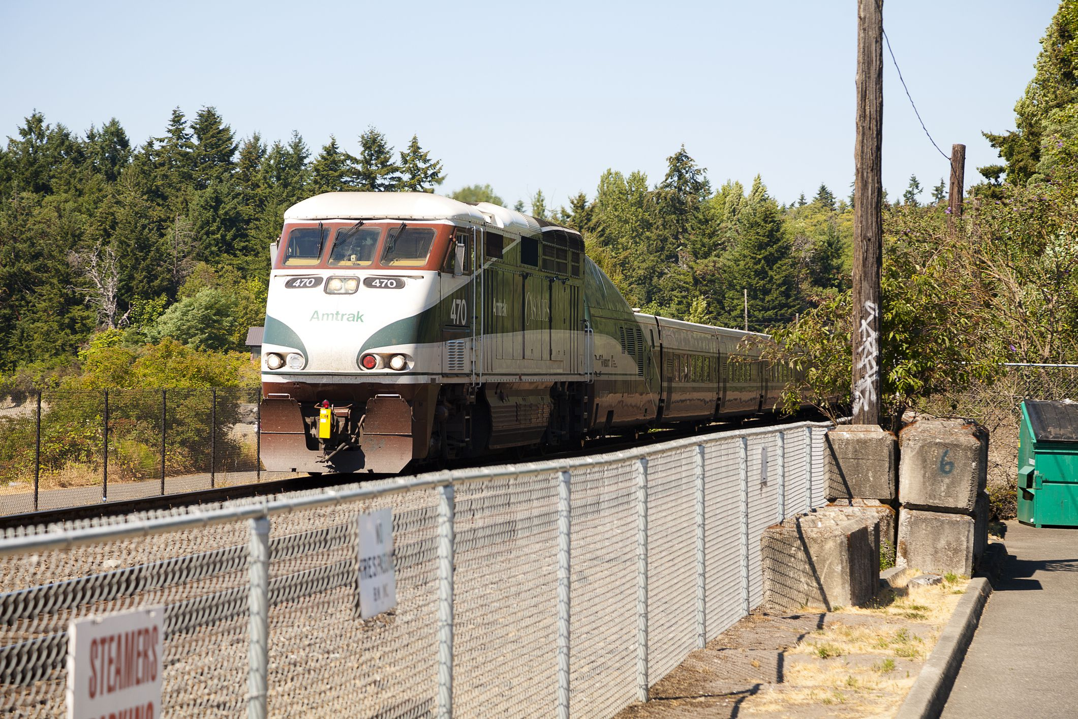 Tren de Seattle, WA a Vancouver, BC