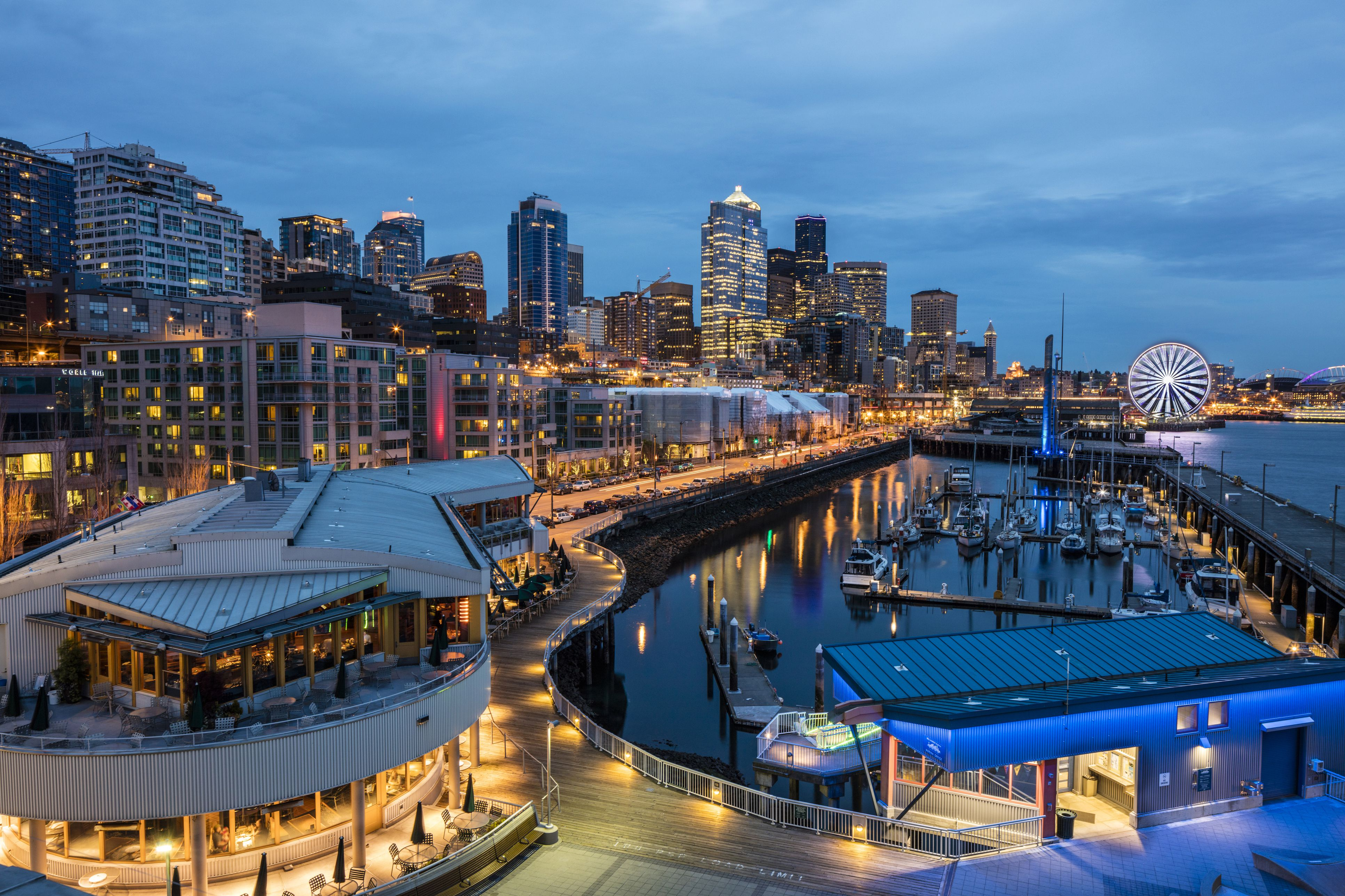 Seattle Washington Map Tourist.8 Fun Things To Do On The Downtown Seattle Washington Waterfront