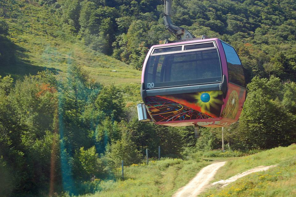 New England Fall Foliage Chairlift Sky Rides